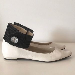 Fairyland Ankle Strap Low Heel Shoes